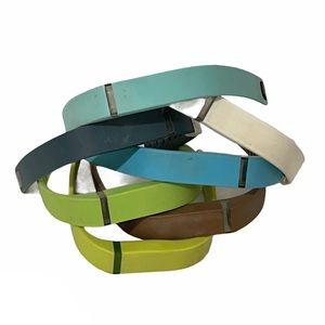 Fitbit flex bundle of seven colorful wristbands S